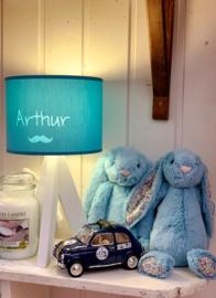 """Gepersonaliseerde sfeerlamp """"My Little Lamp"""", drie-poot/wit"""