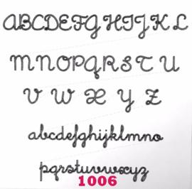 Lettertype 1006