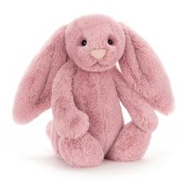 """""""JELLYCAT"""" Bashful Bunny, tulip, met of zonder naam"""