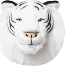 'Wild & Soft - Trophy'- Muurdecoratie Witte tijger Albert