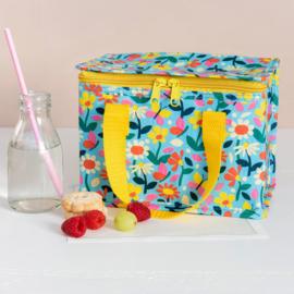 """Koeltasje Rex London """"Butterfly Garden Lunch Bag """" met of zonder naam geborduurd"""