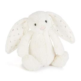 """""""JELLYCAT"""" Bashful Bunny, twinkle, met of zonder naam"""