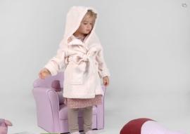 Kinder kamerjasje fleece, gebroken wit, 3 jaar + 1 naam geborduurd
