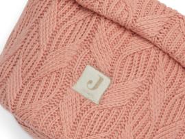 """Jollein"" commodemandje spring knit rosewood"