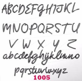 Lettertype 1005