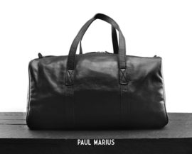 "WE-tas 100% leder ""Paul Marius, Le Cabine"" zwart"