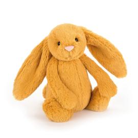 """""""JELLYCAT"""" Bashful Bunny, saffron, met of zonder naam"""