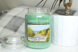 Yankee candle, Coastal Living, Jar large