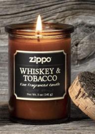 "Geurkaars  Zippo ""Whiskey & Tobacco"""