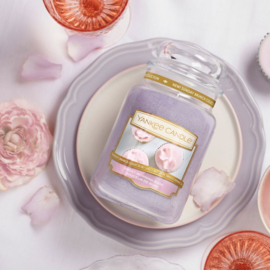 Yankee candle, Sweet Morning Rose, Jar large