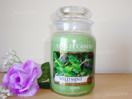 Yankee candle, Wild Mint, Jar large