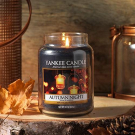 Yankee candle, Autumn glow, Jar large