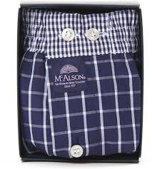 """""""McAlson"""" Boxershort met binnenbroekje, M0220, XL, met 2 gratis initialen geborduurd"""