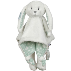 Knuffel konijn LD, mint + 1 naam geborduurd