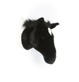 "'Wild & Soft - Trophy'- Muurdecoratie Zwart Paard ""Peter"""