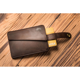 "WALLET HANDY, ""Alaskan Maker"", leder"