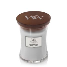"WoodWick Jar Medium ""Lavender & Cedar"""