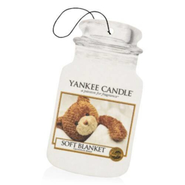 "Car Jar, Odour neutralising ""Yankee Candle"" Soft Blanket"