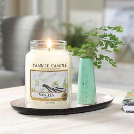 Yankee candle, Vanilla, Jar large