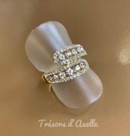 Chartage, elastische ring, past op iedere vinger, nikkelvrij