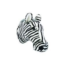"'Wild & Soft - Trophy'- Muurdecoratie Zebra ""Daniel"""
