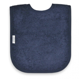 Slab in spons donker blauw met of zonder naamborduring