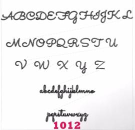 Lettertype 1012