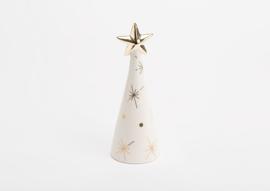 Kerstboom, medium, wit