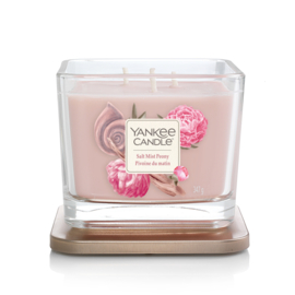 """Salt Mist Peony"" Yankee Candle, Elevation coll. medium"