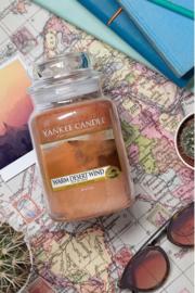 Yankee candle, Warm desert wind, Jar large