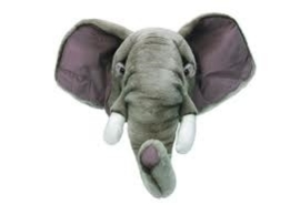"'Wild & Soft - Trophy'- Muurdecoratie Olifant ""George"""
