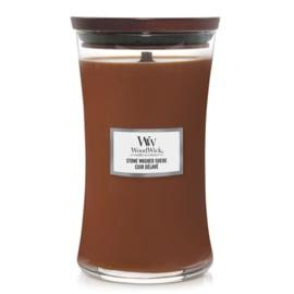 "WoodWick Jar Large ""Stone washed Suède"""