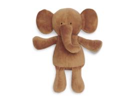 """Jollein"" Knuffel olifant, caramel"