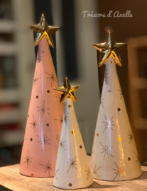 Kerstboom, small, wit