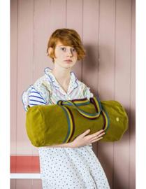 "Bowling Bag ""La Cerise sur le Gâteau"" Iona Lichen, met of zonder naam geborduurd"