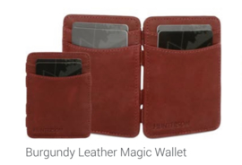 "Magic Wallet ""Hunterson"", bordeau"