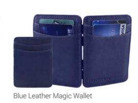 """Magic Wallet """"Hunterson"""", donker blauw (donkerder dan op foto)"""