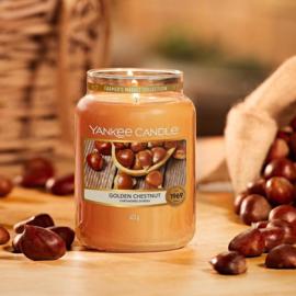 Yankee candle, Golden chestnut, Jar large