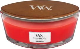"""Crimson Berries"" WoodWick Ellipse 50u."