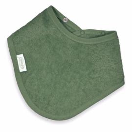 Bandana in spons stonegreen met of zonder naamborduring