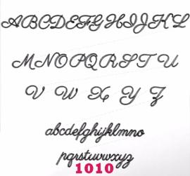 Lettertype 1010