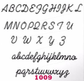 Lettertype 1009