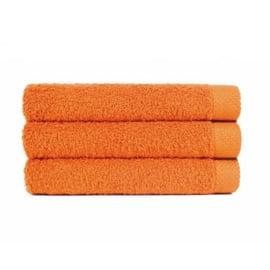 Douche handdoek Oranje (70 x 140) + 1 naam geborduurd