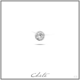 "Halsketting ""Cheté"", nylon 42+5 cm"