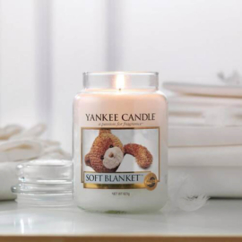 Yankee candle, Soft Blanket, Jar large