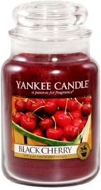 Yankee candle, Black cherry, Jar large