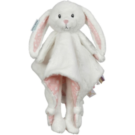 Knuffel konijn LD, licht roos, + 1 naam geborduurd