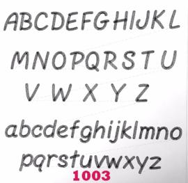 Lettertype 1003