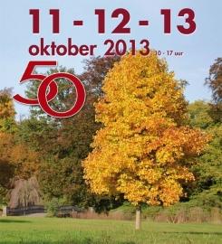 """Oktober 2013, """" 50-ste editie van de Tuindagen """""""