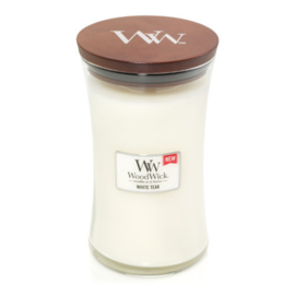 "WoodWick Jar Large ""White Teak"""